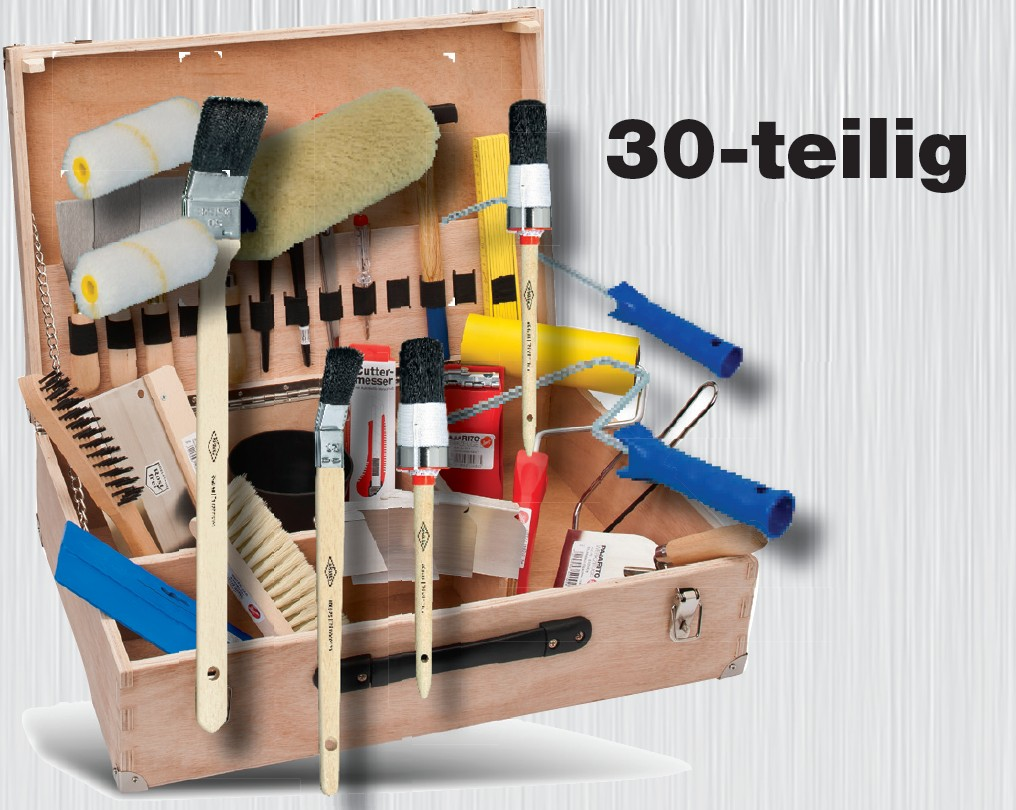 AZUBI Werkzeugkasten 30-teilig Pajarito