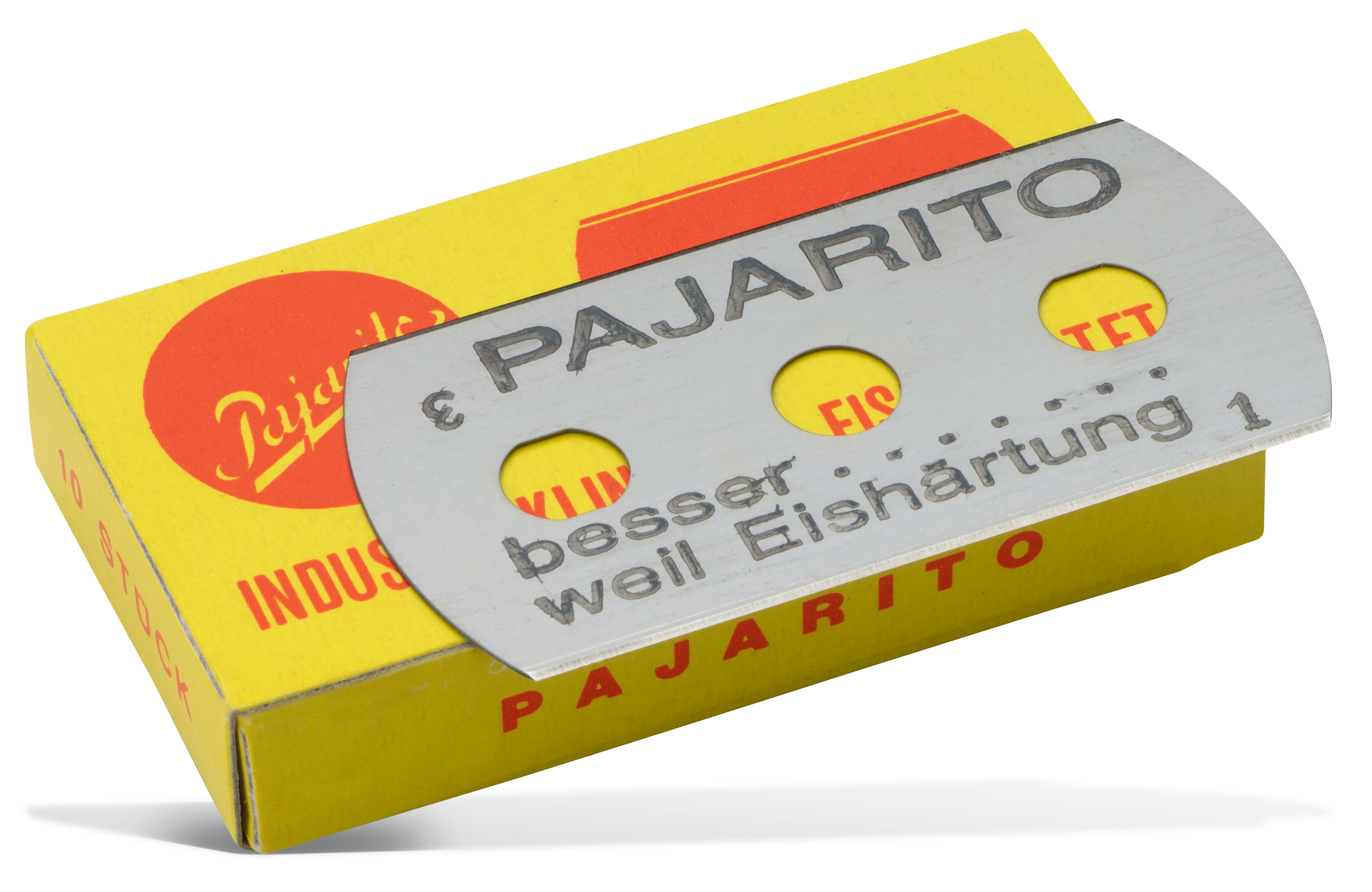 3-Loch-Industrieklinge (ohne Abb.) Pajarito 10 Stück