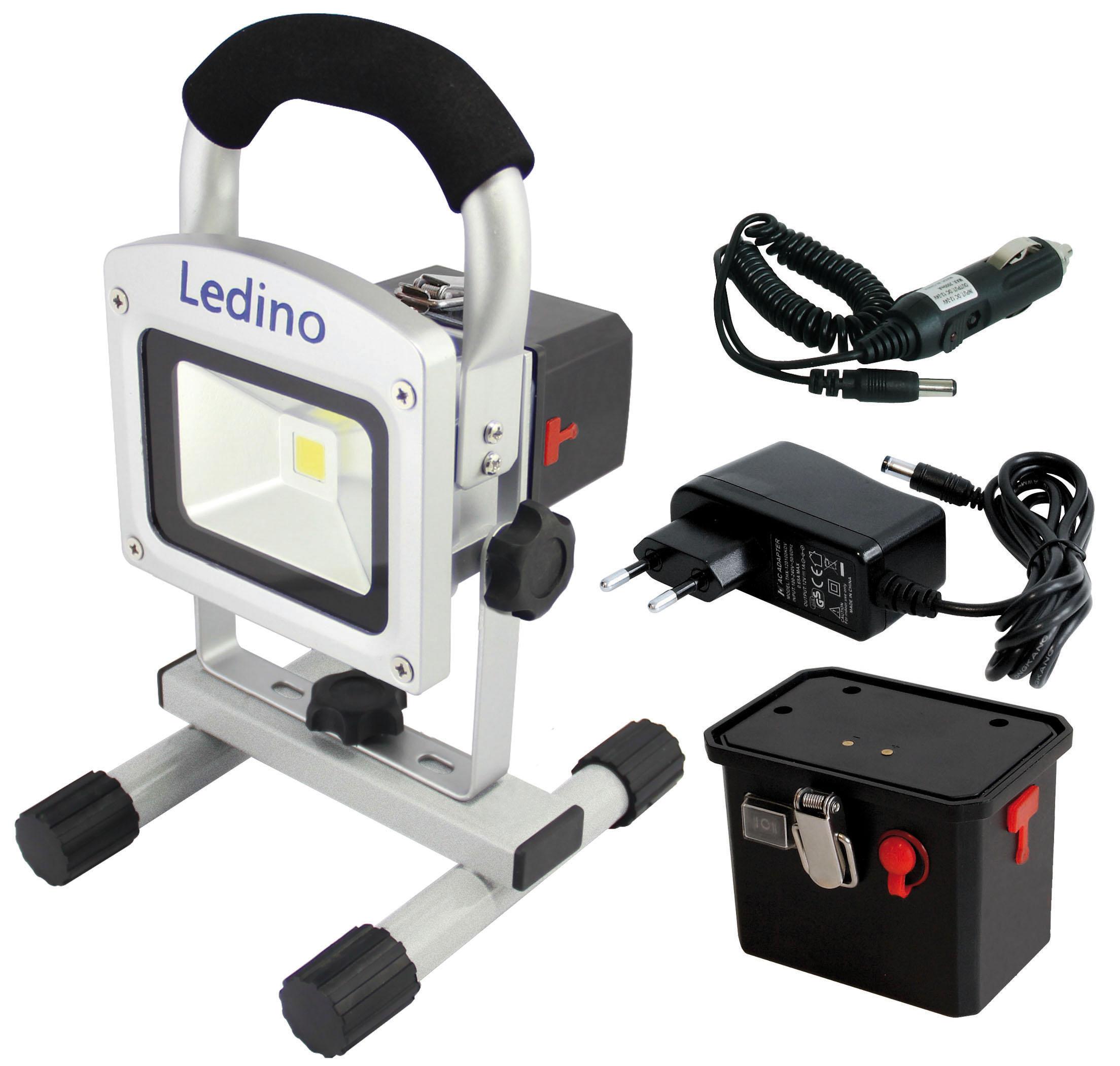 Akku-Strahler-LED 10 Watt Set  Pajarito